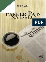 Agata Kristi~Parker Pajn na delu