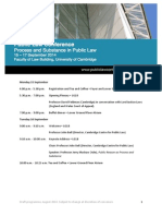 Public Law Conference Draft Programme July 2014