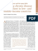 NCD in Poor Countries