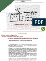 Competenze digitali  Tra realtà della scuola e urgenze della società