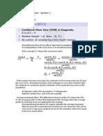 Applied Econometrics notes