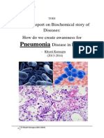 biology research report on pneumonia khyati