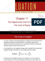 Chapter 11 Cost of Equity