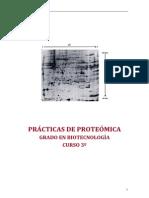 Prácticas Laboratorio Proteómica