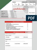 Dossier de candidature de l'école informatique eXia.Cesi