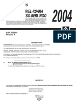 Citroen C2 2004 - Handbook