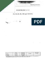 Benning Enertronic L3-3 UPS User Manual