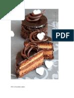 Mini Torturi Cu Ciocolata
