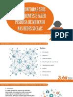 eBook Como Monitorar Concorrentes e Fazer Pesquisas de Mercado Nas Midias Sociais