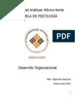APUNTES DESARROLLO ORGANIZACIONAL