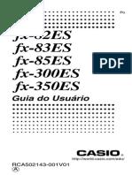 Manual Calculadora CASIO FX-82ES