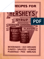55 Recipes for Hershey's Syrup