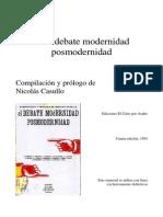 Huyssen_Modernidad y Posmodernidad