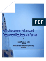 Public Procurement Rules and Regulations USAID 17-12-2011 Compatibility Mode
