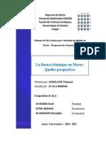 Mémoire Finance Islamique
