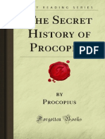 Procopius the Secret History of Procopius Forgotten Books 2007