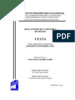 Aplicaciones de La Dinamica de Suelos Gordillo Gordillo, Nestor Octavio