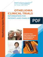 Mesothelioma Clinical Trial Handbook