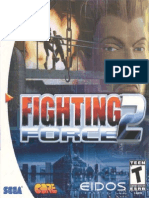 Fighting Force 2 - Manual - DC