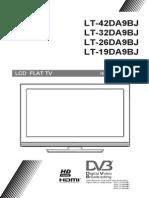 JVC LT-19DA9B LCD Flat TV User Manual
