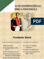 Processos de Independencia Na America Espanhola