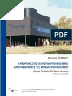 Doble Escenografia y Clon Del Movimiento Moderno. La Imposibilidad de La Copia Fisica en Arquitectura.
