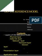 OSI ISO refernce model