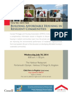 CMHC Affordable Housing Event - Kingston
