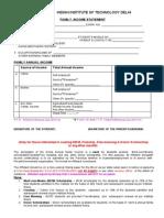 In Come Declan d Affidavit Format
