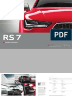 Audi RS 7 Sportback Catalogue (Germany, 2015)