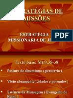 SLIDES ESTRATÉGIAS DE MISSÕES