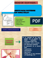 Taponamiento Nasal Posterior