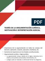 Teoría de La Argumentación Jurídica. Motivación e Interpretación Judicial