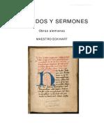 Tratados y Sermones.maestro Eckhart