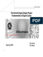 GE Cycles Lecture Info 2009