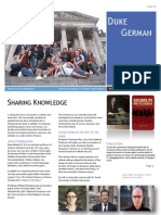 Department Newsletter Vol 1-Issue 1