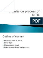 Admission Process of NITIE