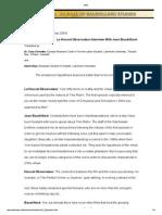 Baudrillard - Matrix Decoded (Le Nouvel Observateur Interview)
