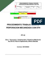 Procedimiento Perforación Con DTH Cristhian (1)