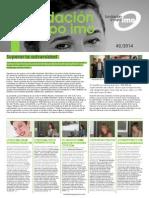 Newsletter Fundacion n2 Julio 2014