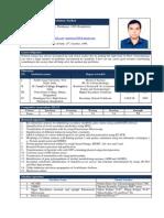 Mrinmoy Sarker CV