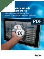 Beijer Electronics  IX HMI SoftControl Brochure_130528_low
