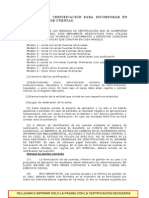 Modelos Certificacion Cuentas Anuales Por Parte de Administrador
