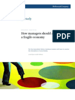 How Manager Should Approach in Fragile Economy