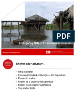 Shelter in Natural Disasters (1)
