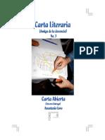 Carta Literaria No. 3