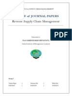 LSCM Journal Paper Review