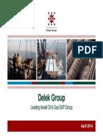 Delek Group April 2014