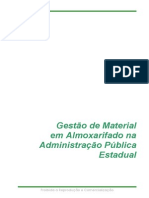 Manual Gestao de Material Em Almoxarifado Na Administracao Publica Estadual