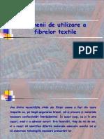 Domenii de Utilizare a Fibrelor Textile
